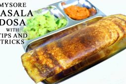 Special Mysore masala dosa recipe with Tips and tricks on how to make it easily