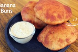 Banana buns recipe | Mangalore buns recipe| Banana puri
