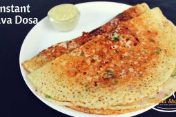 Rava dosa recipe | instant onion rava dosa recipe