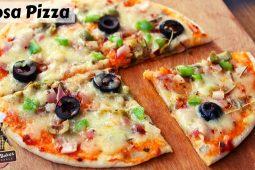 Dosa Pizza under 5 mins | No Oven No Maida